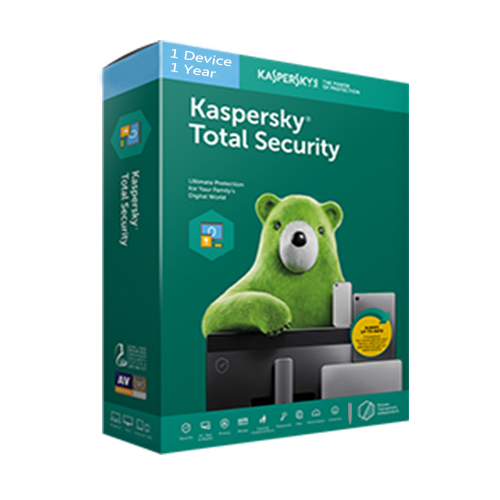 kaspersky total security 1pc 1year