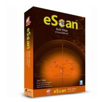escan antivirus 1 pc 1year